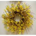 """Forsythia Wreath 27"""""""