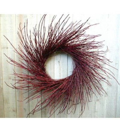 Red Twig Dogwood Wreath