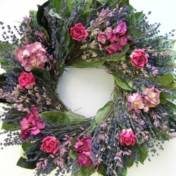 18&quot; Grandma's Garden Wreath