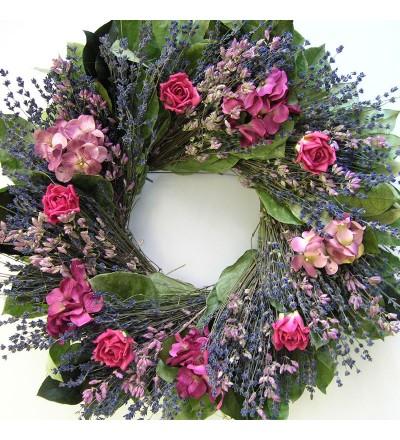 "18"" Grandma's Garden Wreath"