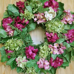 Hydrangea Wreath