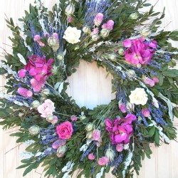 Katy's Garden Wreath
