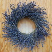 Lavender Wreath