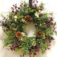 Northwest Christmas Wreath