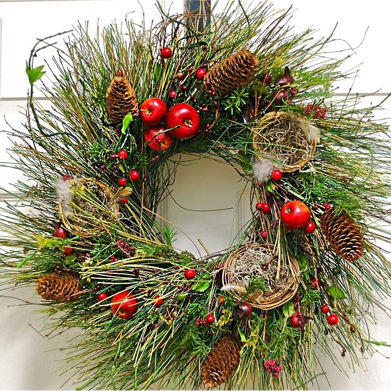 Christmas Holiday Wreath - Old World Christmas Wreath