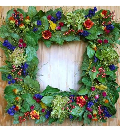 Provence Square Wreath