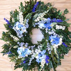 Summer Skies Wreath
