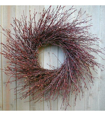 Wispy Birch Wreath