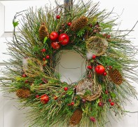 Old World Christmas Wreath