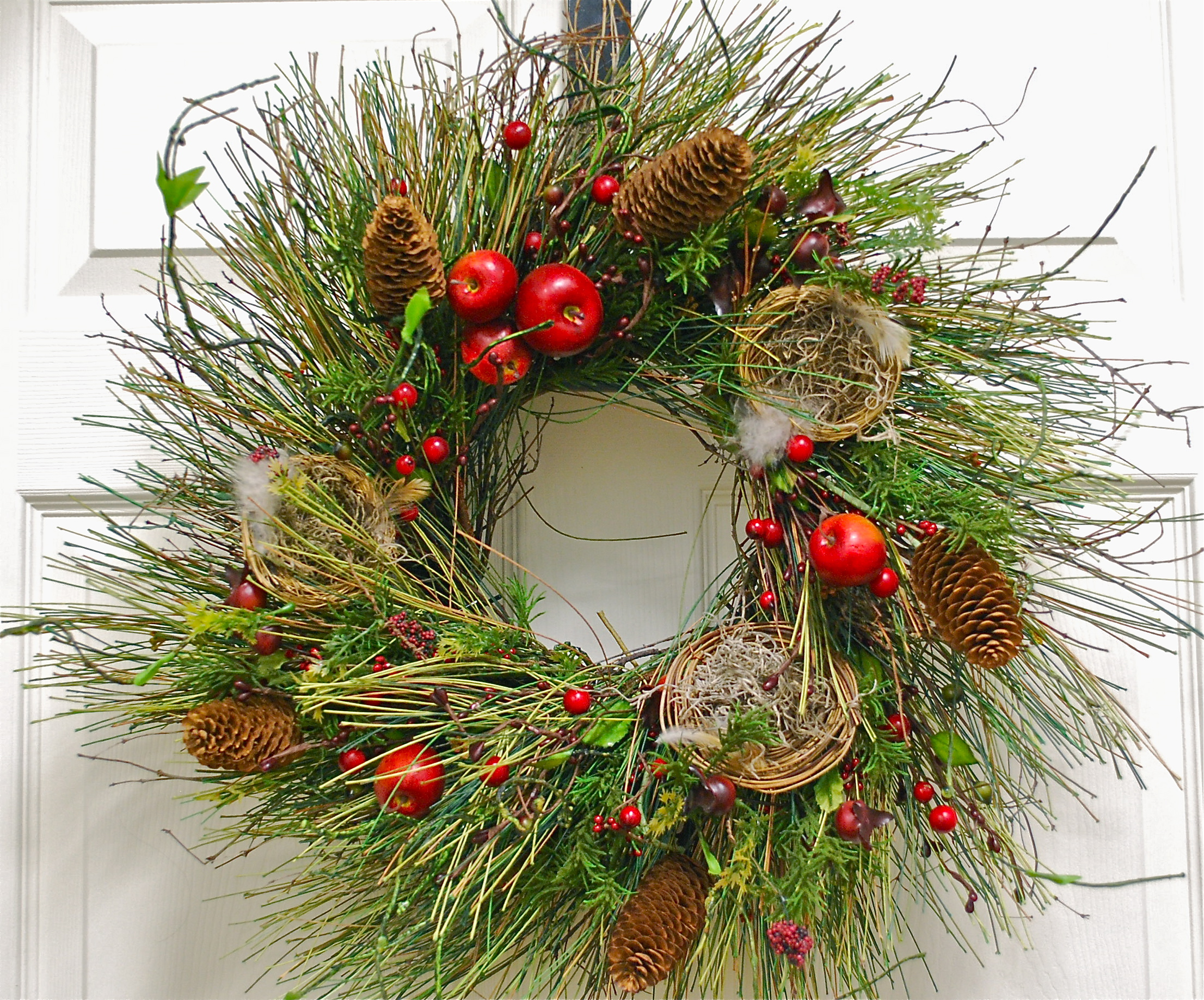 The most beautiful christmas wreath year after year for Most beautiful christmas photos