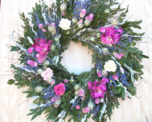 summer wreath 7